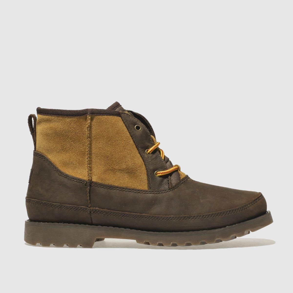 Ugg Dark Brown Bradley Boots Youth