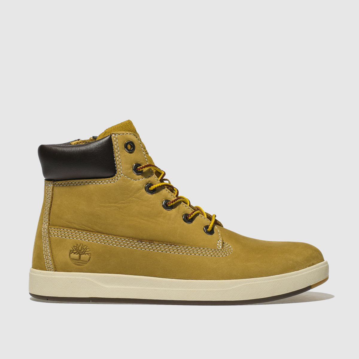 Timberland Natural Davis Square 6 Inch Boys Youth Youth