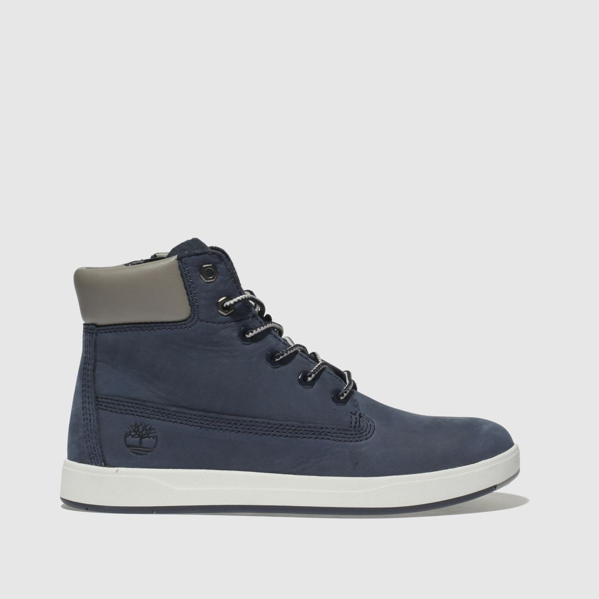 Timberland Navy Davis Square 6 Inch Boys Youth Youth