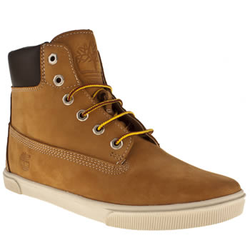 Timberland Tan 6 Inch Cupsole Boys Youth