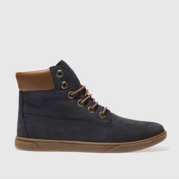 Timberland Navy Groveton 6 Inch Boys Youth