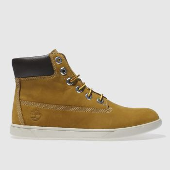 Timberland Tan GROVETON 6 INCH Boys Youth