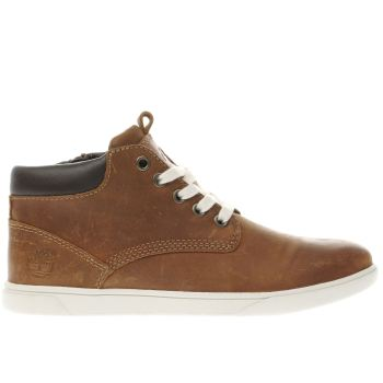 Timberland Brown Groveton Chukka Boys Youth
