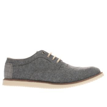 TOMS BLUE BROGUE BOYS YOUTH SHOES
