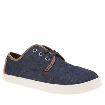 Toms Navy Paseo Boys Youth