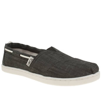 Boys Toms Black Bimini Boys Youth