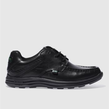 Kickers Black Reasan Lace Boys Youth