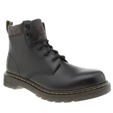 Dr Martens Black Padley Boys Youth