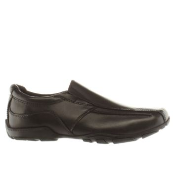 Hush Puppies Black Bespoke Boys Youth