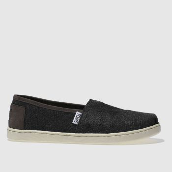 Toms Dark Grey CLASSIC Boys Youth