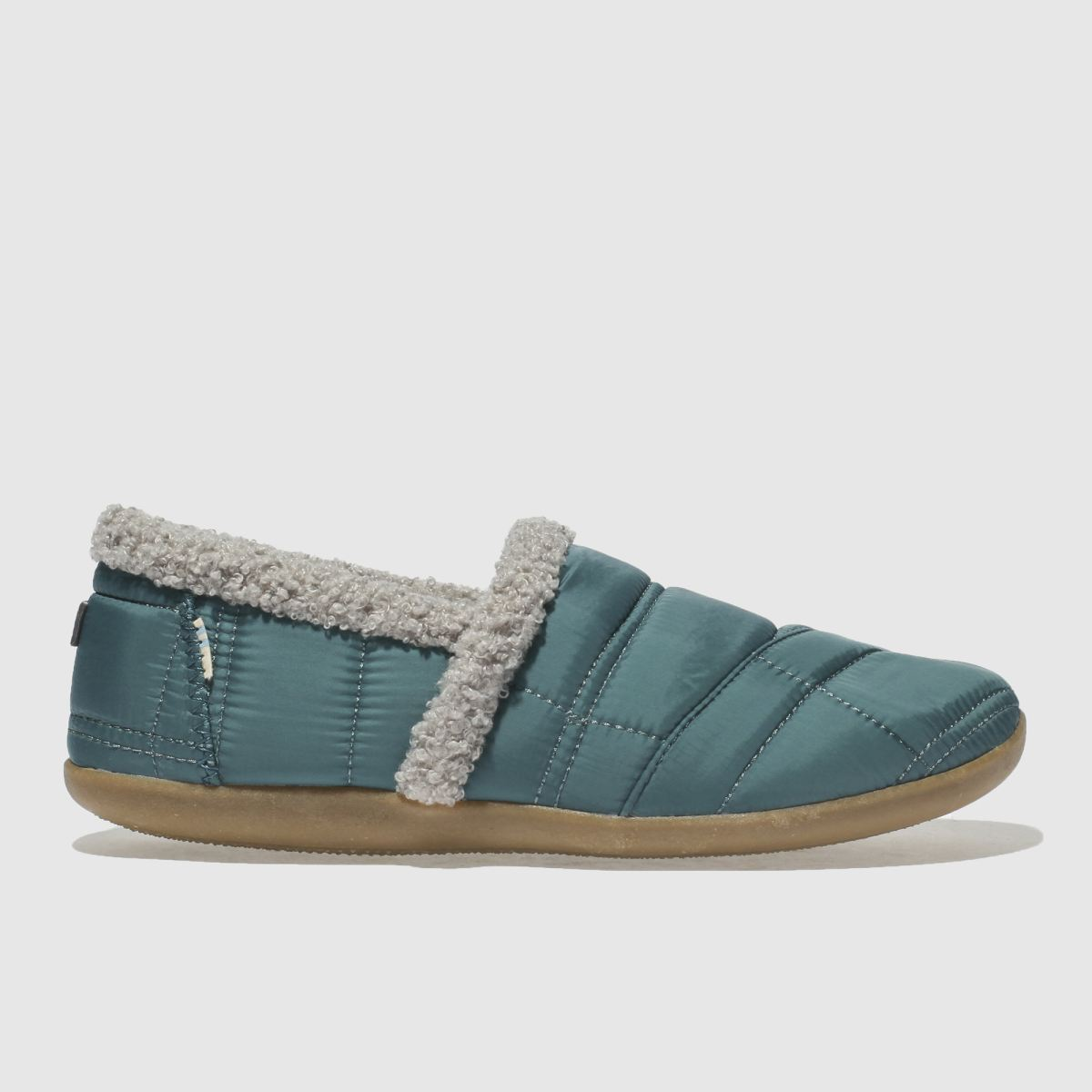 Toms Blue House Slipper Boots Youth