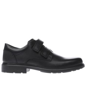 Clarks Black Remi Pace Boys Youth
