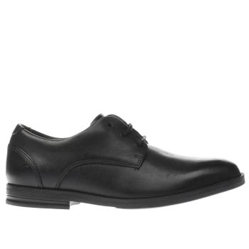 Clarks Black Rufus Edge Boys Youth