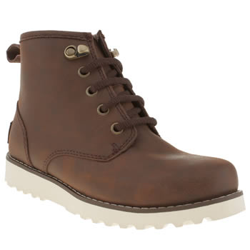Ugg Australia Dark Brown Maple Boys Youth
