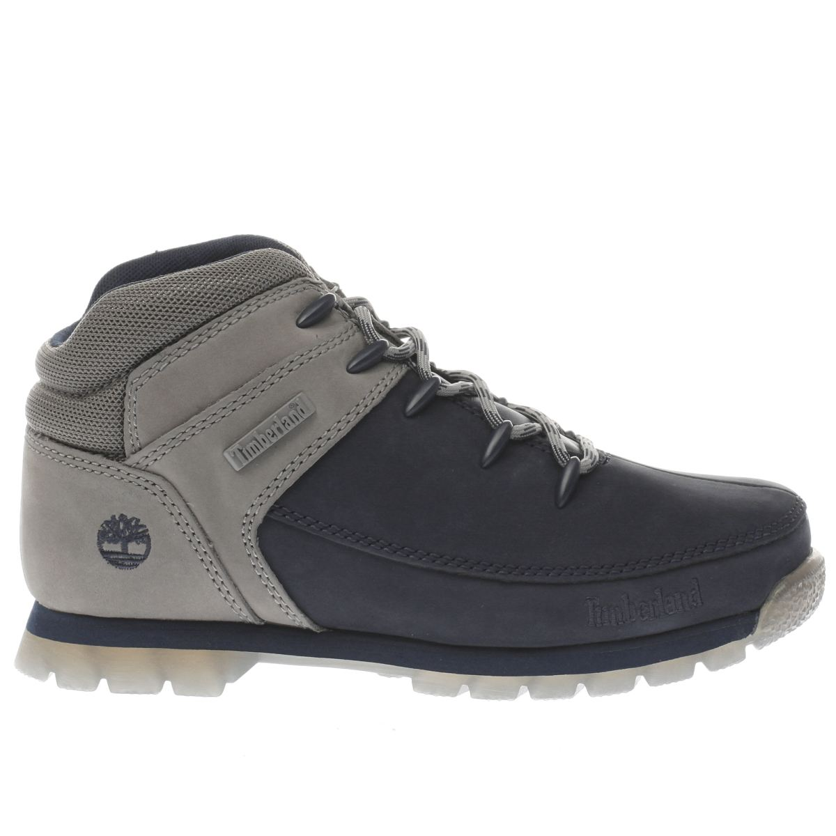 timberland navy & grey eurosprint Boys Youth Boots