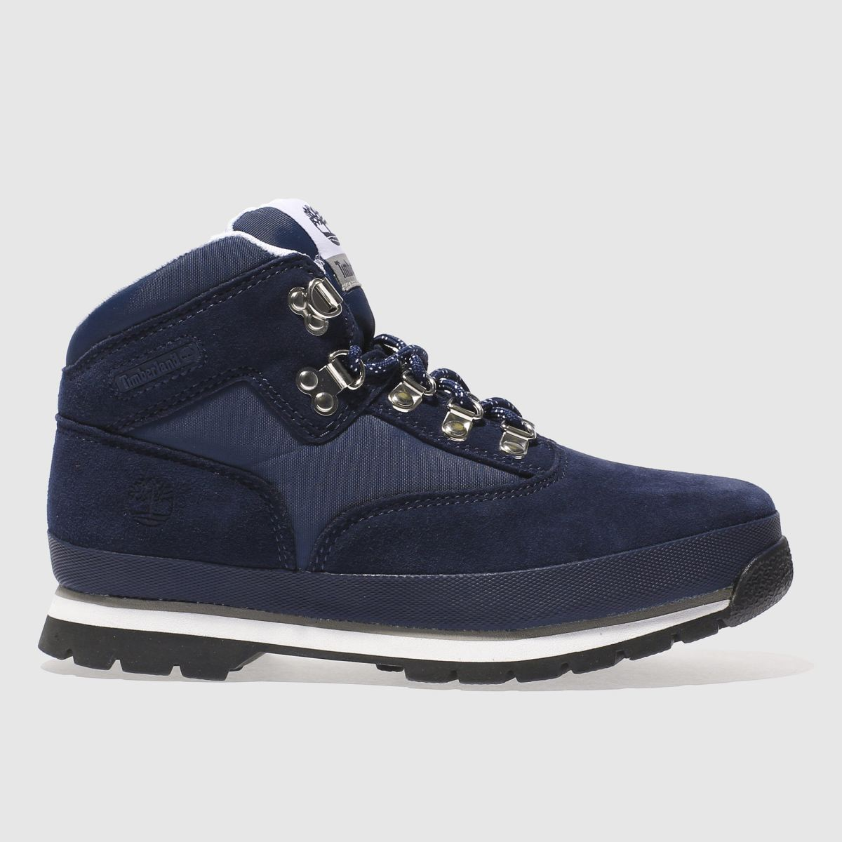 timberland navy & white euro hiker Boys Youth Boots