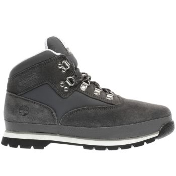 Timberland Grey Euro Hiker Boys Youth