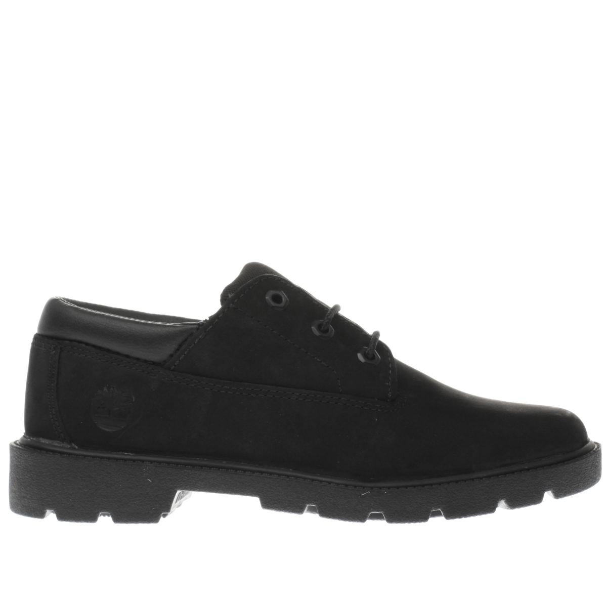 timberland black classic oxford Boys Youth Shoes