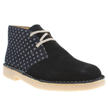 Clarks Originals Navy Desert Boot Boys Youth