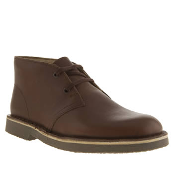 Clarks Originals Dark Brown Desert Boot Boys Youth