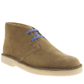 Clarks Originals Tan Desert Boot Boys Youth