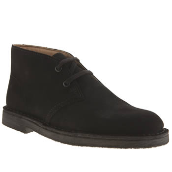 Clarks Originals Black Desert Boot Boys Youth
