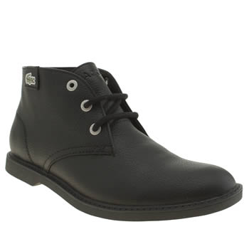 Lacoste Black Sherbrooke Hi Boys Youth