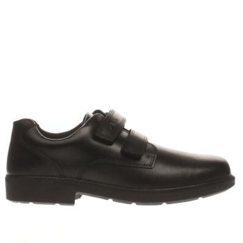 Clarks Black Deaton Gate Boys Youth