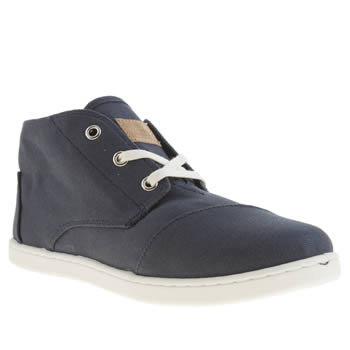 Toms Navy Paseo Mid Boys Youth