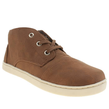 Toms Tan Paseo Mid Boys Youth