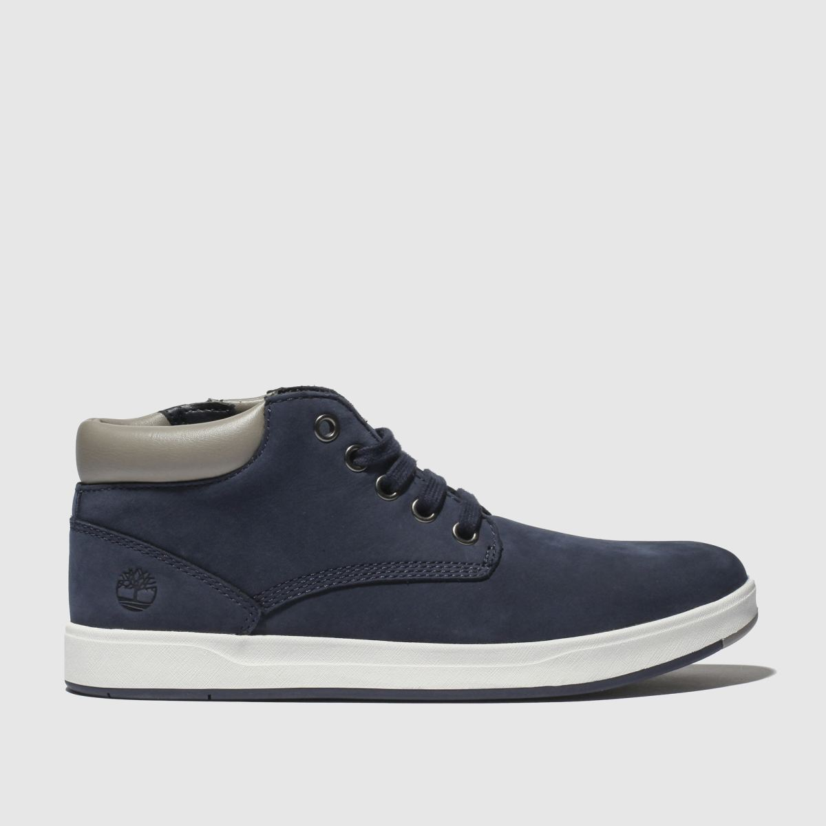 Timberland Navy Davis Square Boots Youth