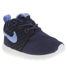 Toddler Navy & Black Nike Rosherun