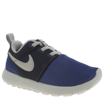 Boys Nike Navy & Grey Roshe One Boys Toddler