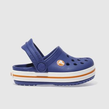 Crocs Blue Crocband Clog Boys Toddler