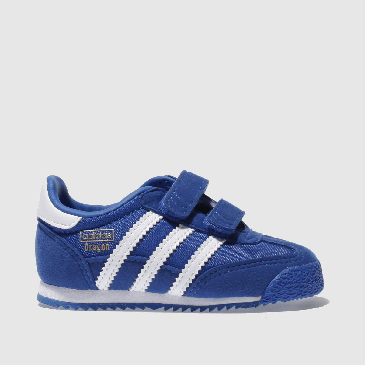 adidas blue & white dragon Boys Toddler Trainers
