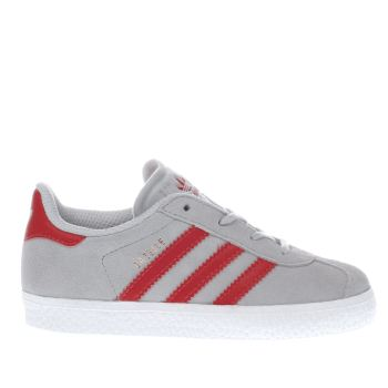 Boys Adidas Grey Gazelle Boys Toddler