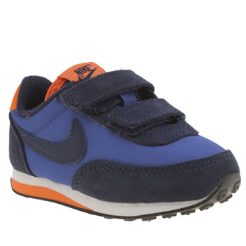 Boys Nike Navy & Orange Elite 2v Boys Toddler