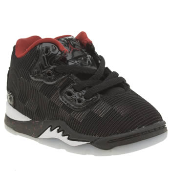 Nike Jordan Black & Red Jordan Spike Forty Boys Toddler