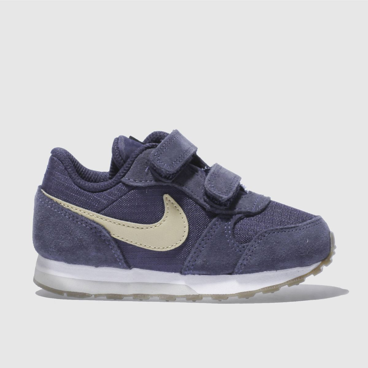 nike navy & stone md runner 2 Boys Toddler Trainers