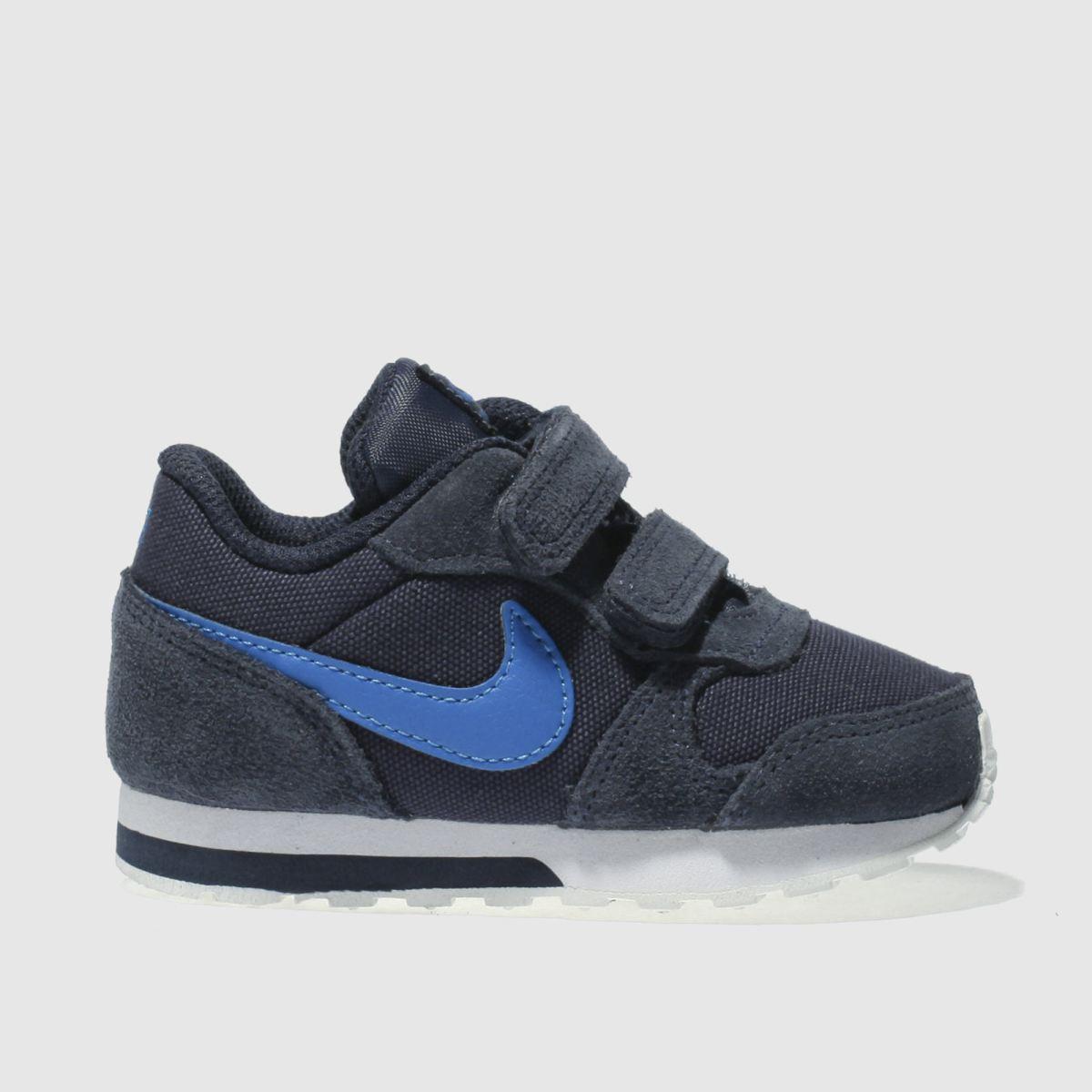 Nike Navy Md Runner 2 Boys Toddler Trainers