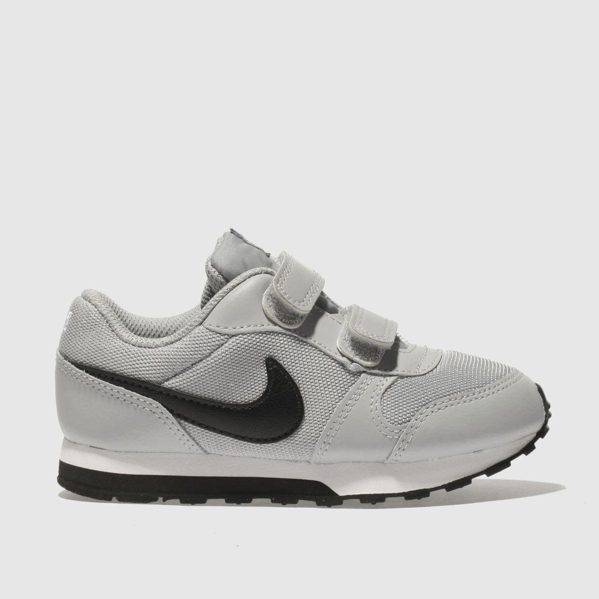 Nike Light Grey Md Runner 2 Trainers Toddler