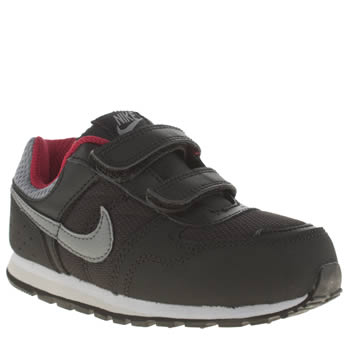 Boys Nike Black & Grey Md Runner Boys Toddler