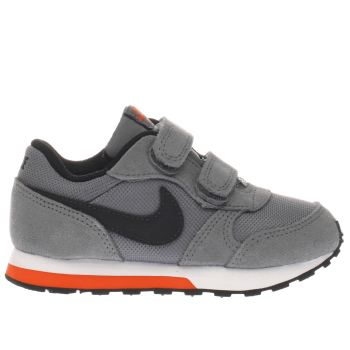 Nike Grey & Black Md Runner 2 Boys Toddler