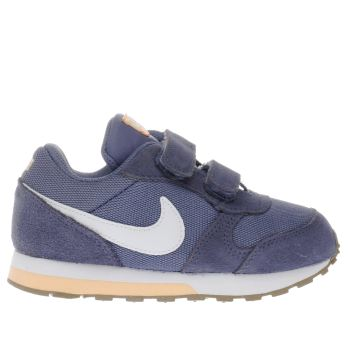 Nike Blue & Peach Md Runner 2 Boys Toddler