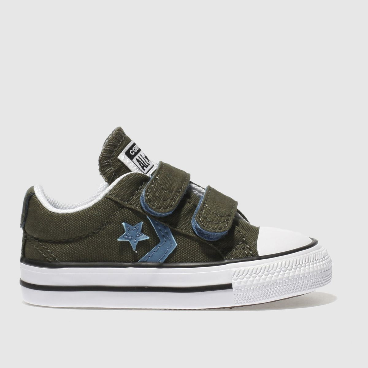 Converse Khaki Star Player 2v Trainers Toddler