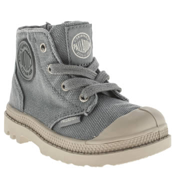Palladium Blue Pampa Hi Zipper Boys Toddler