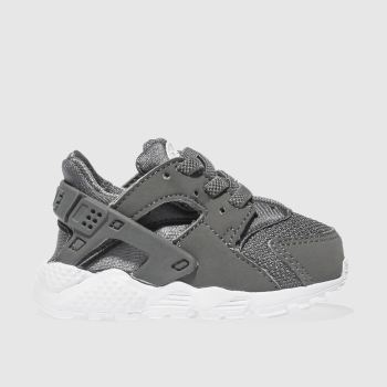 Nike Dark Grey HUARACHE RUN Boys Toddler