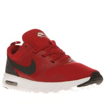 Nike Red Air Max Tavas Boys Toddler
