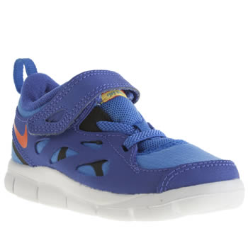 Boys Nike Blue Free Run 2-0 Boys Toddler