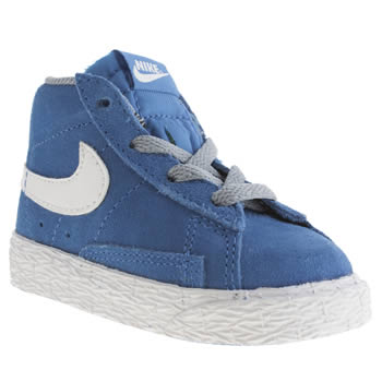 Boys Nike Blue Blazer Mid Vintage Boys Toddler